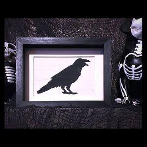 Halloween Raven Wall Decor